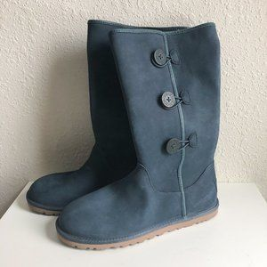New Ugg Annarosa Three Button Suede Boots